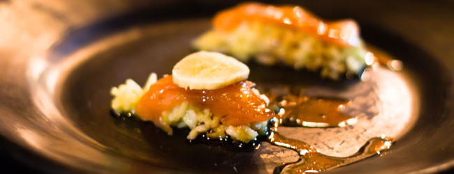 Wild Trout SUSHI With Banana!