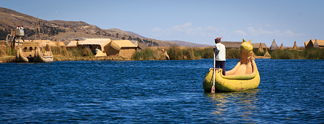 Welcome To The Floating Islands of Uros