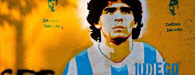 Diego Maradona, Their National Icon