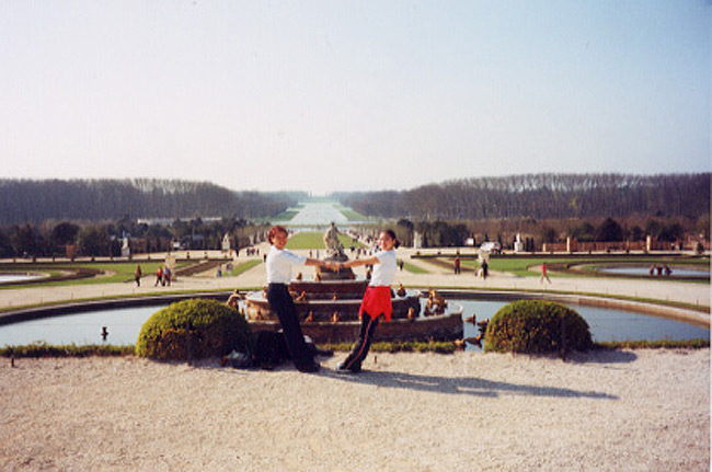 First Time In Versailles Ages Ago